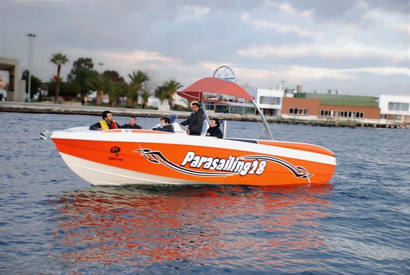 Parasailing 28 - Parasailing Boats