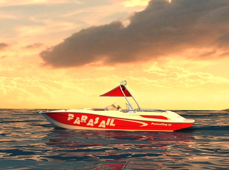 used parasail boats