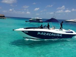 Parasailing boats offers - Parasailing 34