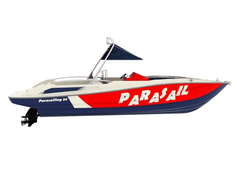 Parasailing 34 - Parasailing Boats