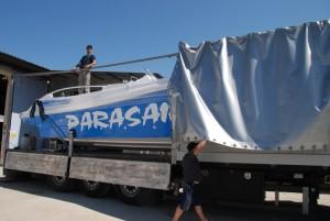 Parasailing Boats Shipment Process
