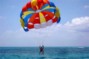 land a parasail