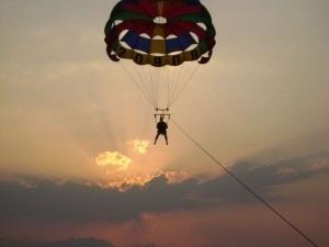 words about parasailing