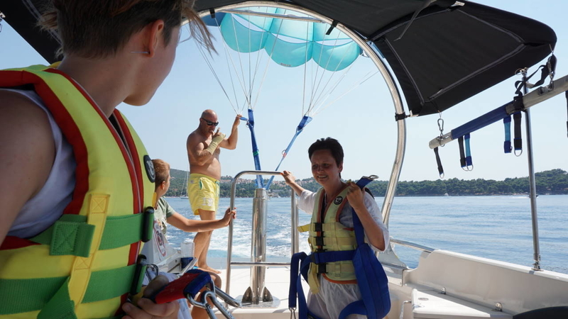 Parasailing 28 New Deal to Croatia